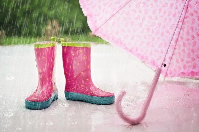 buty dla malucha na deszcz